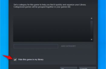 How to hide gameplay on your steam account